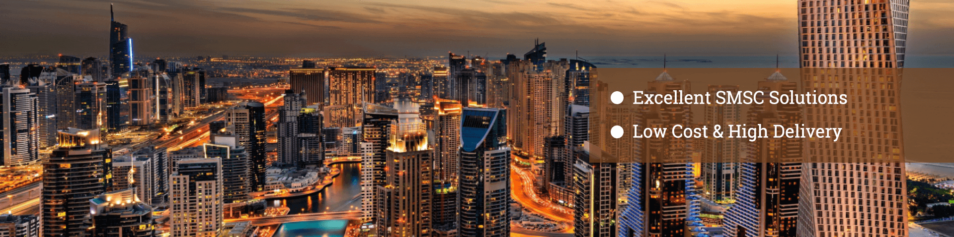 International Bulk SMS Messaging Service Provider, UAE - BroadNet