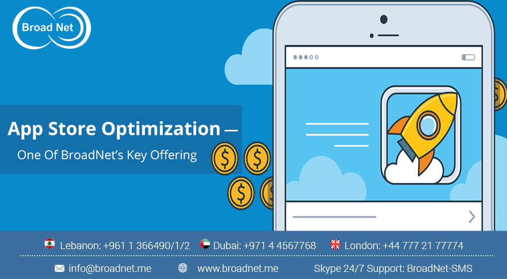 App Store Optimization – One Of BroadNet Key Offering