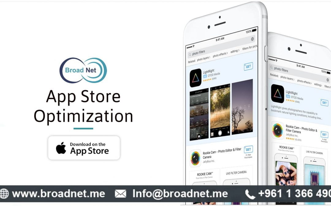 BroadNet Technologies offers App Store Optimization (ASO) Services with exceptionally well results