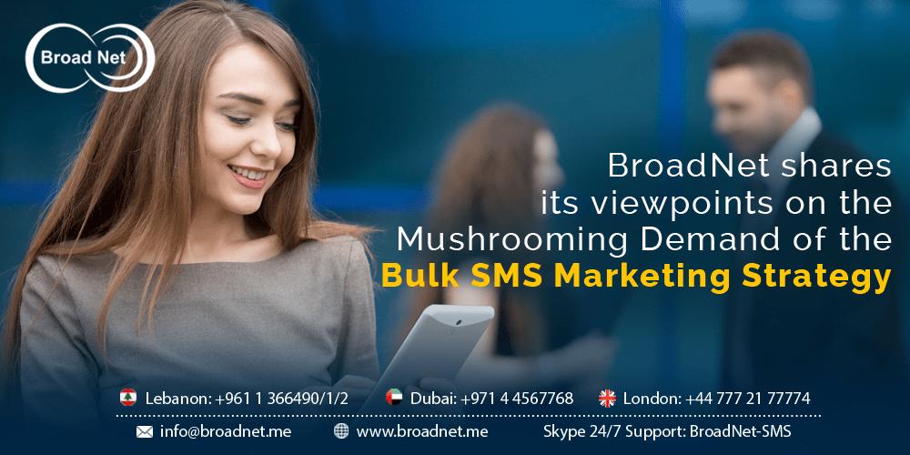 Bulk SMS Marketing Strategy