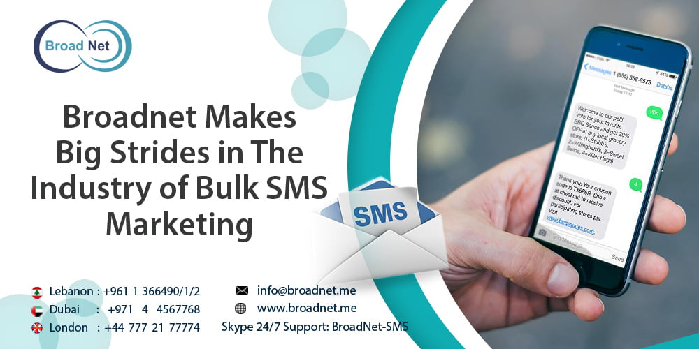 Broadnet Makes Big Strides in The Industry of Bulk SMS Marketing