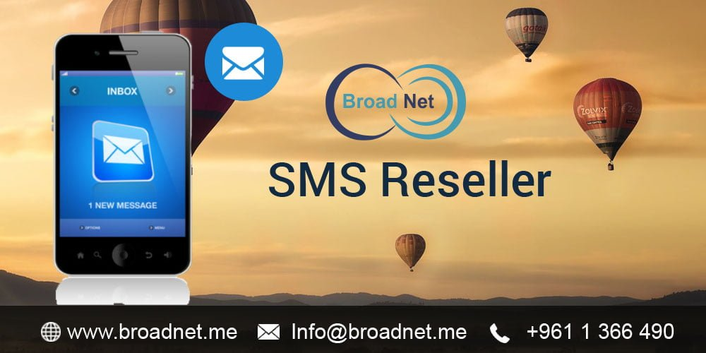 BroadNet Technologies offers the best cost-effective Bulk SMS Reseller Program to the potential partners