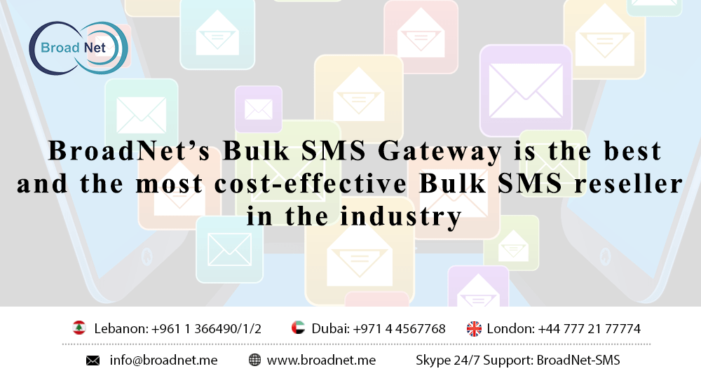 Bulk SMS Reseller in the industry
