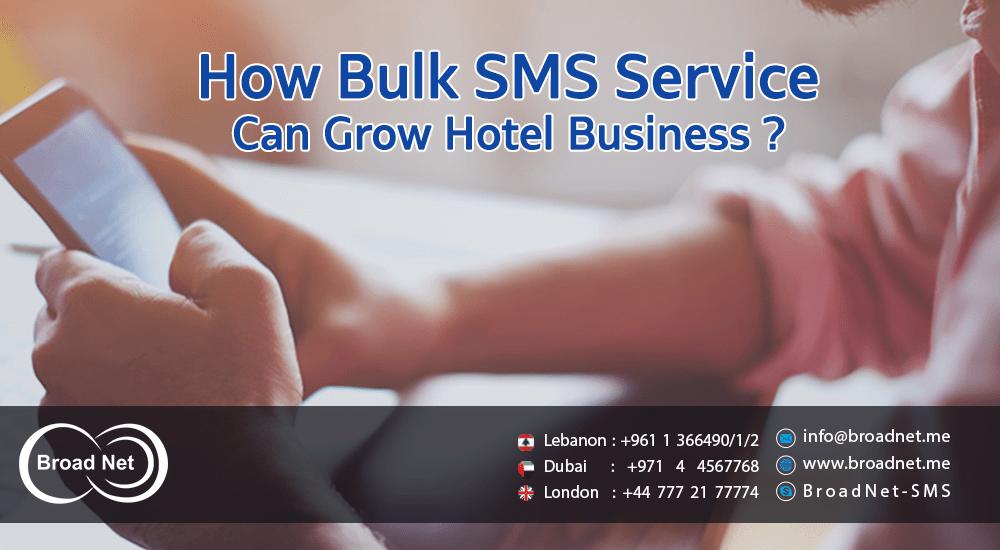 Bulk SMS service can grow Hotel business