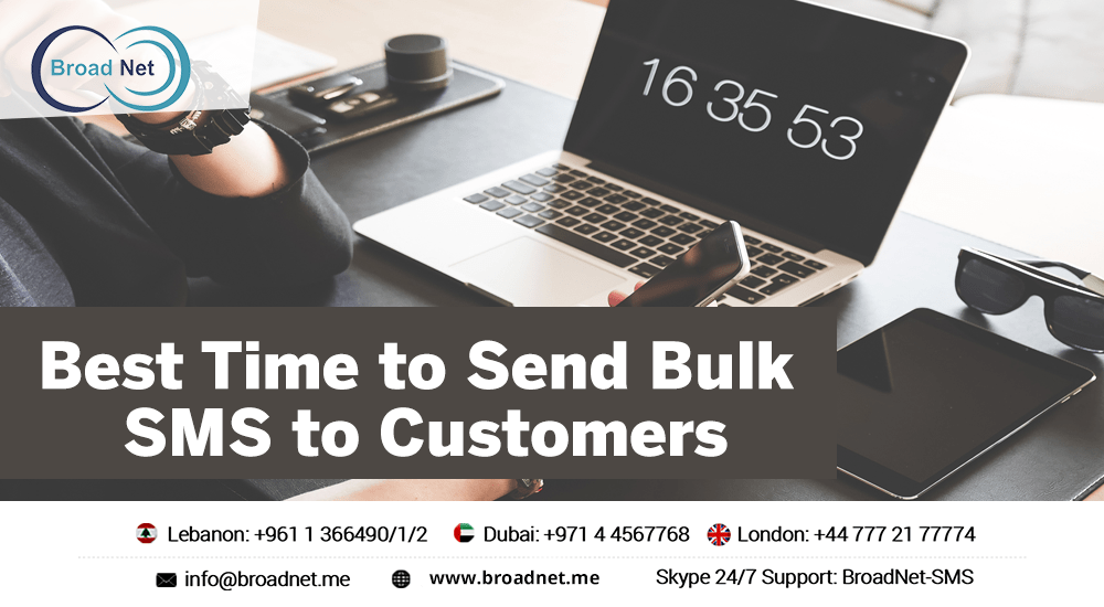 Bulk SMS to Customers