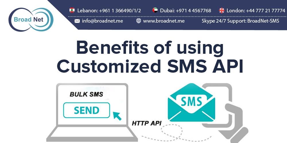 Customized SMS API