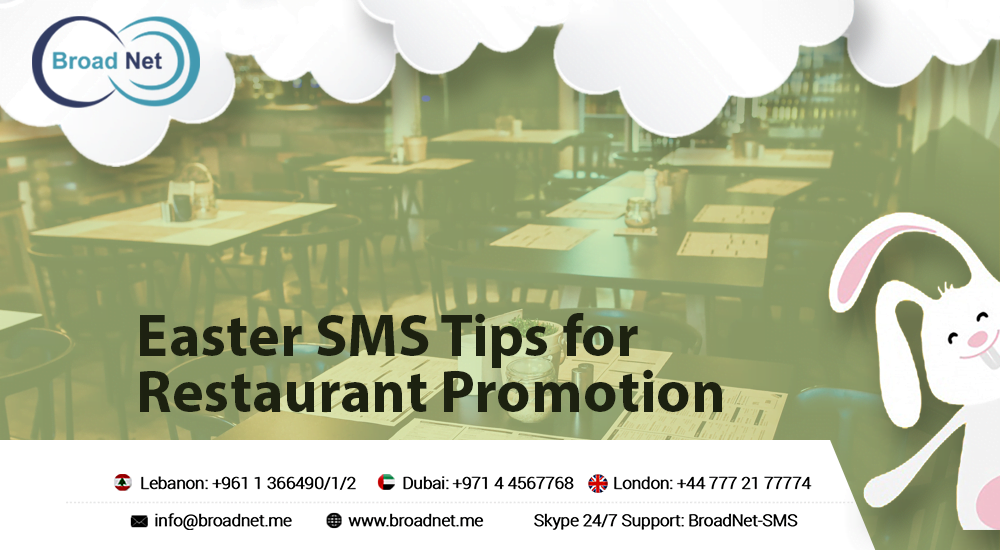 Easter SMS Tips for Restaurant Promotion