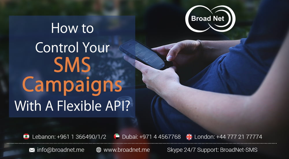 How to Control Your SMS Campaigns with A Flexible API?
