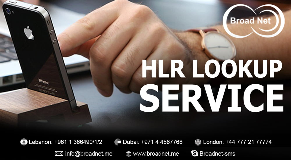 BroadNet Technologies offers Cost effective HLR Lookup service