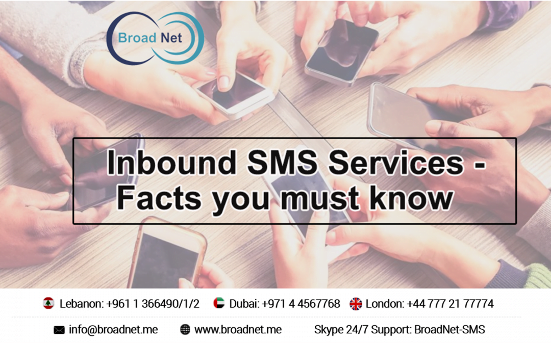 Inbound SMS Services – Facts You Must Know