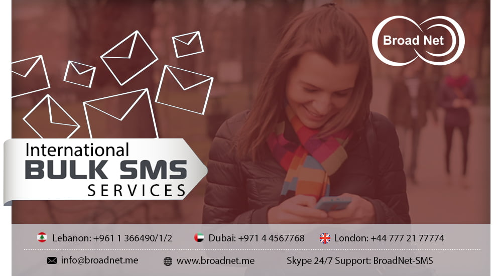 BroadNet Technologies offers Sumptuous and Express International bulk SMS services