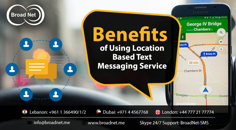 Benefits of Using Location Based Text Messaging Service