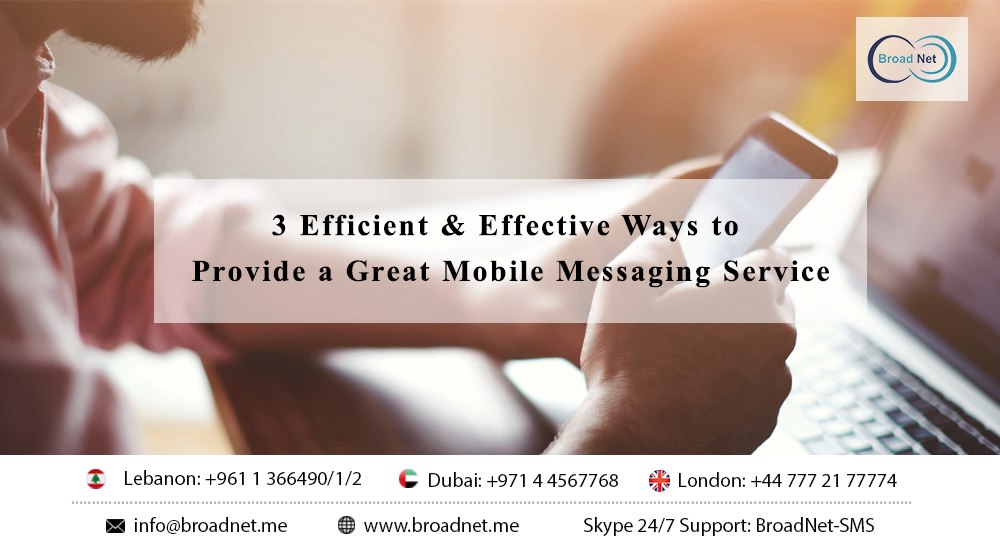 Mobile Messaging Service