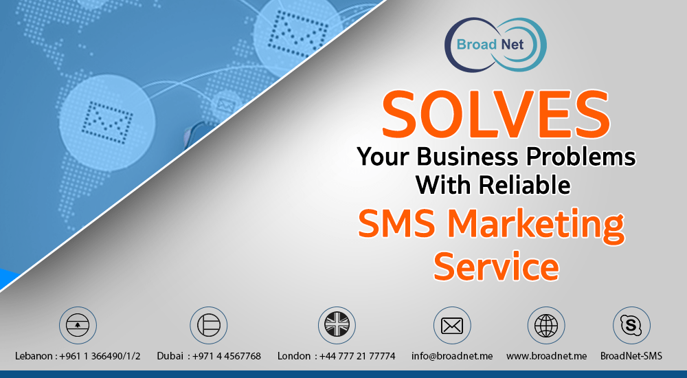 Reliable SMS Marketing Service