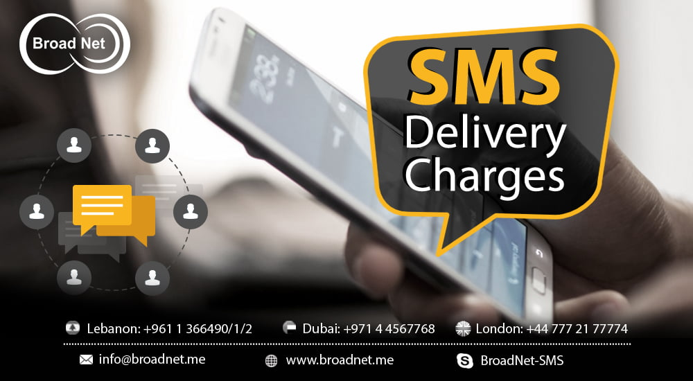 SMS Delivery Charges