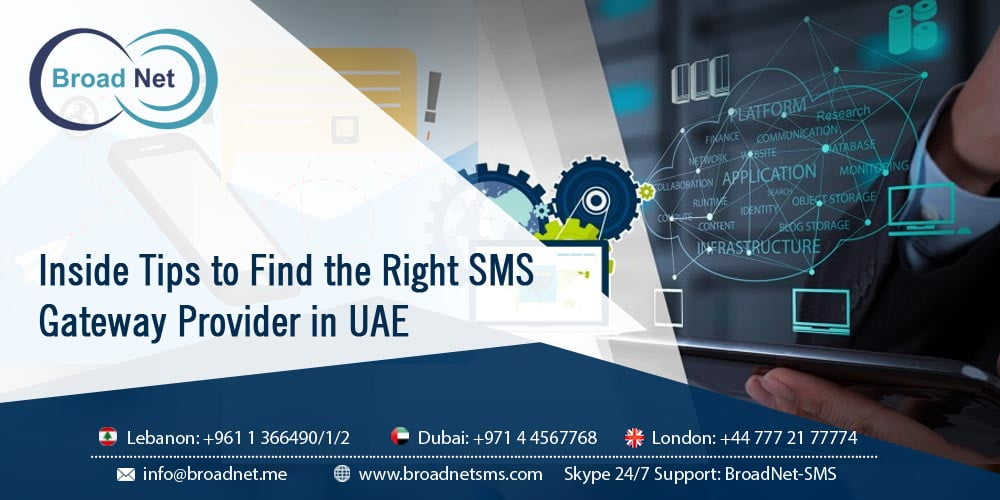 Inside Tips to Find the Right SMS Gateway Provider in UAE