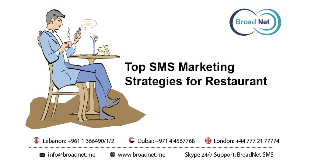 Top SMS Marketing Strategies for Restaurant