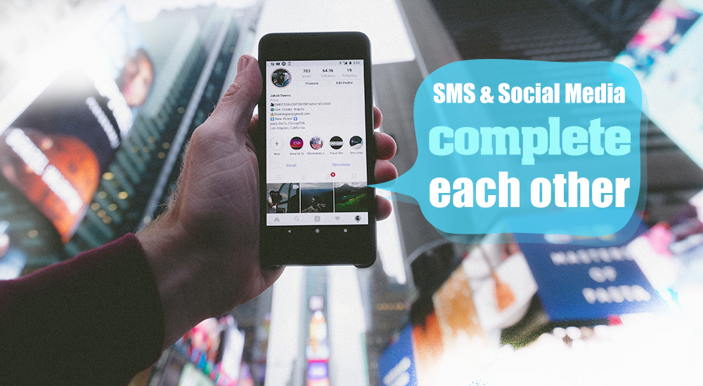 SMS Can Help You Grow Your Fanbase On Social Media