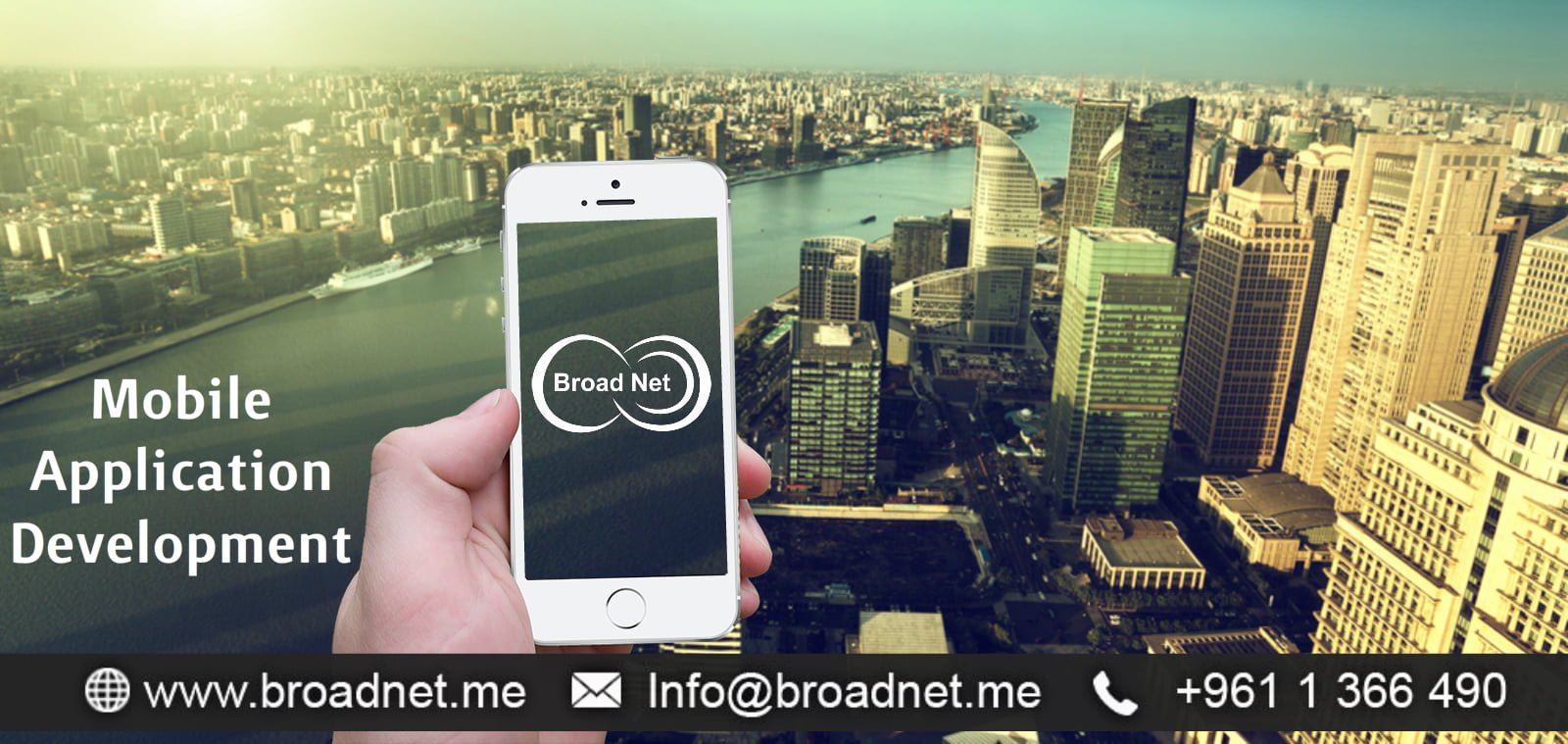 BroadNet Technologies Delivers customized Application Development and Software Solutions