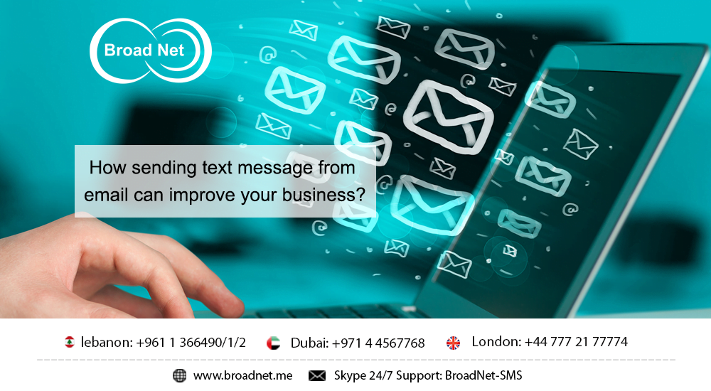 How Sending Text Message From Email can Improve Your Business?