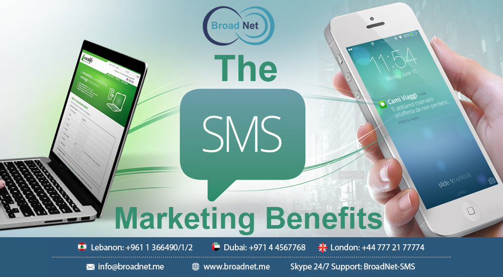 The SMS Marketing Benefits