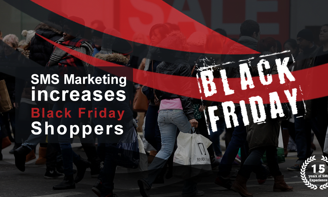 SMS Marketing Increases Black Friday Shoppers
