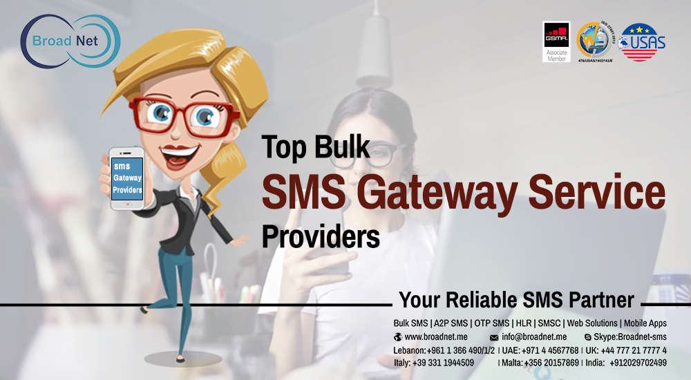 Top Bulk SMS Gateway Service Providers