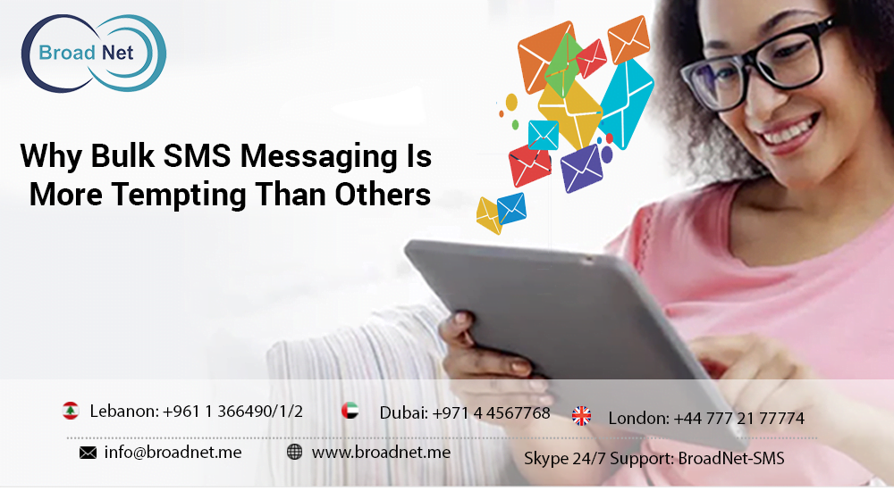 bulk sms is tempting more than others