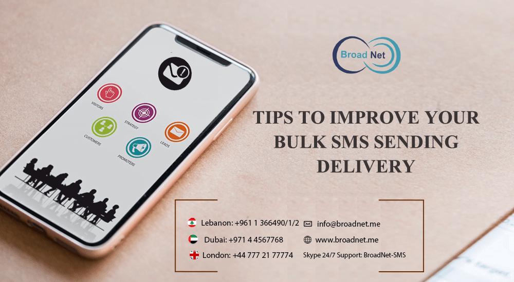 bulk sms sending delivery