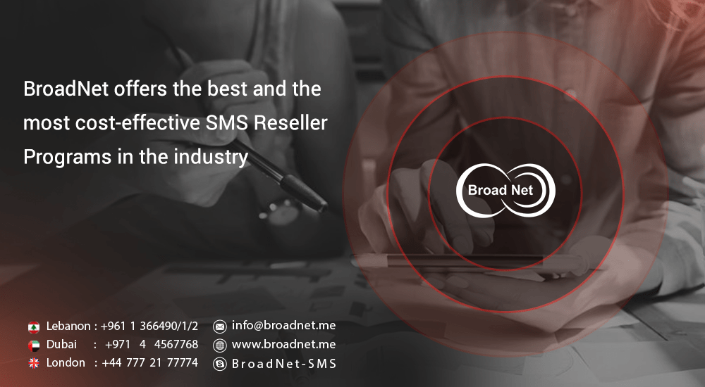 cost-effective SMS Reseller Program