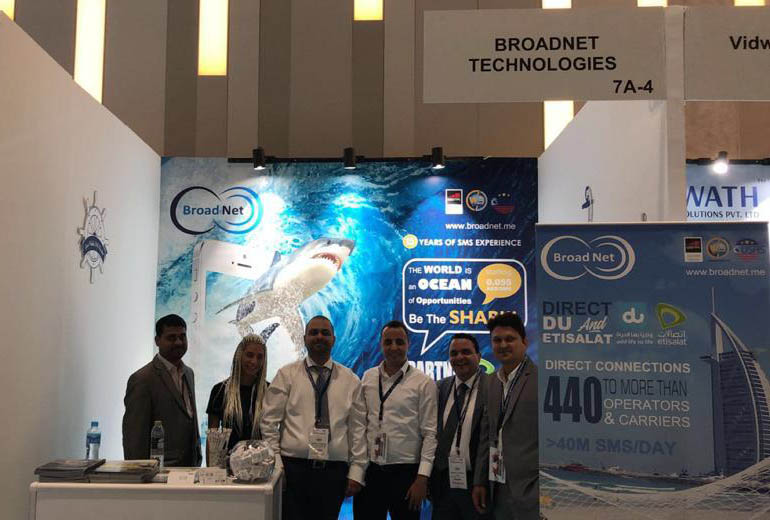 BroadNet Had Successfully Participated In GITEX 2018-Dubai