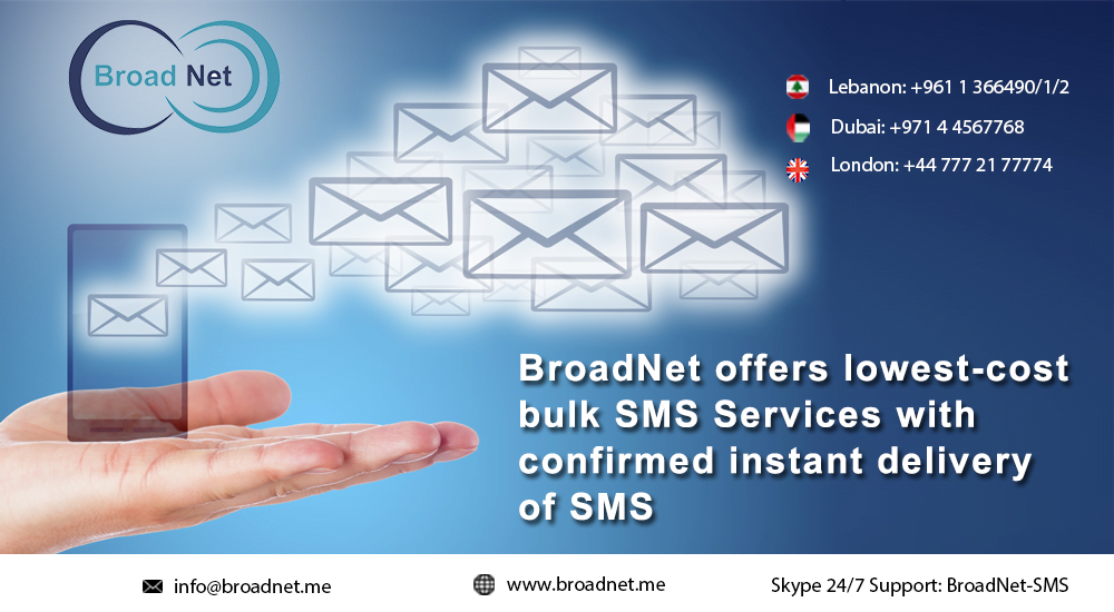 instant delivery of SMS