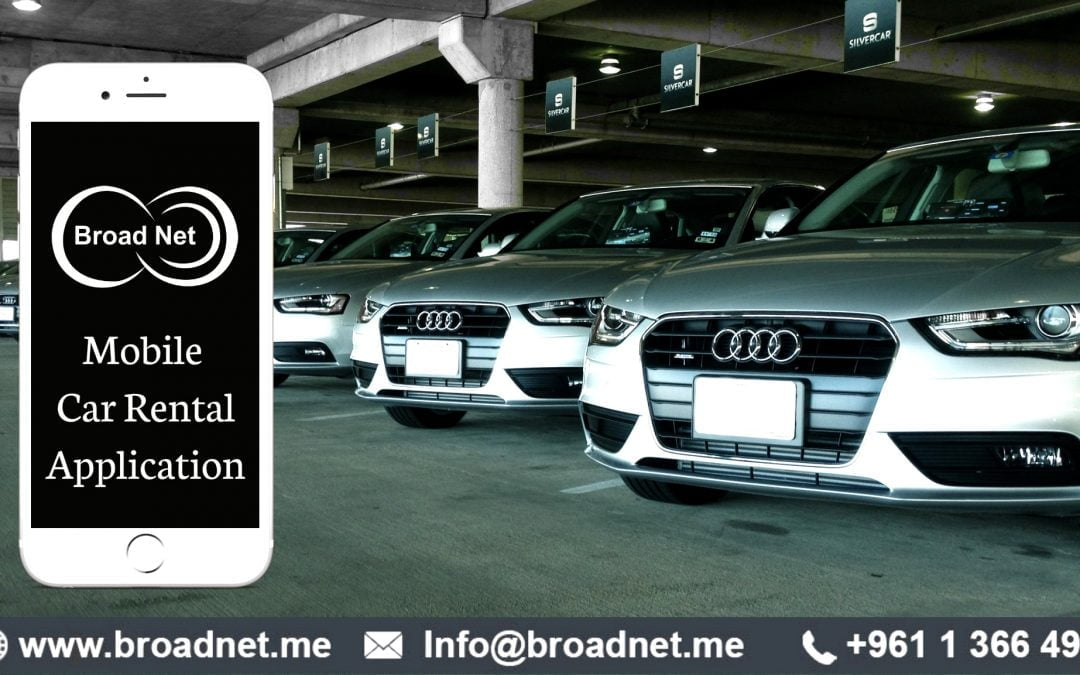 BroadNet Technologies offers best Mobile Car Rental App for iPhone, iPad, Android and Windows