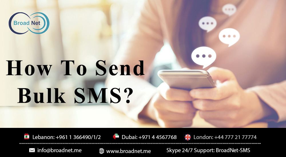 How To Send Bulk SMS