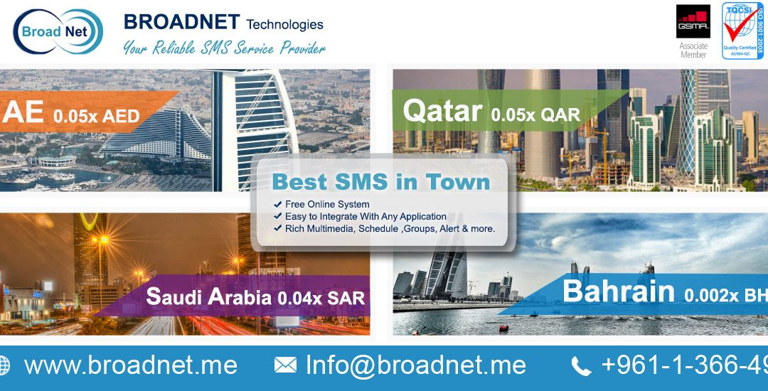 BroadNet Technologies offers most available and cost-effective bulk SMS Reseller Program