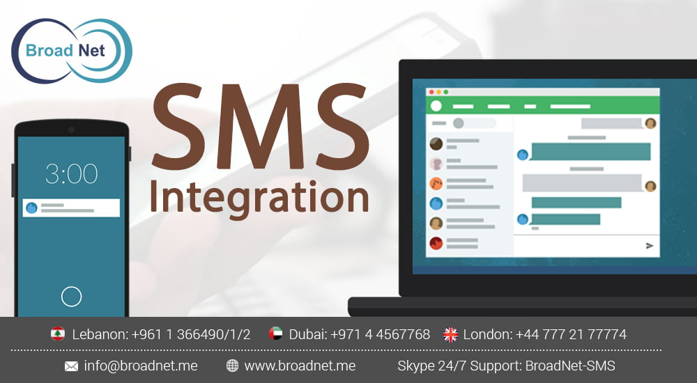 Easy SMS integration with any software, using SMS APIs