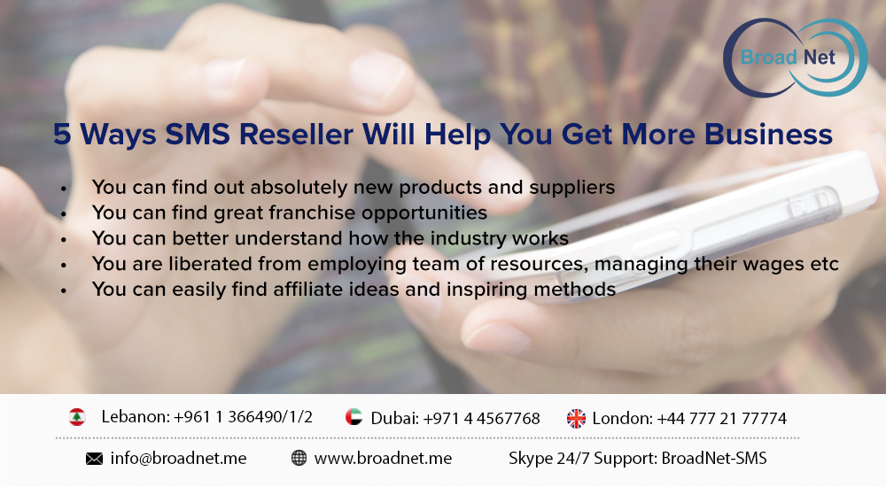 sms reseller to grow your business