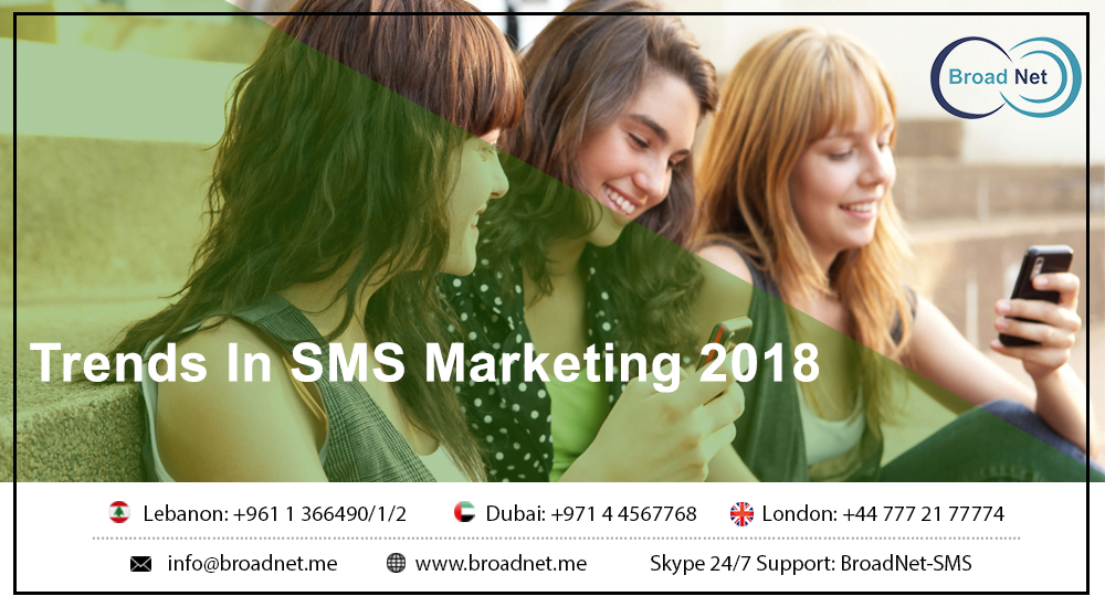 Trends In SMS Marketing 2018
