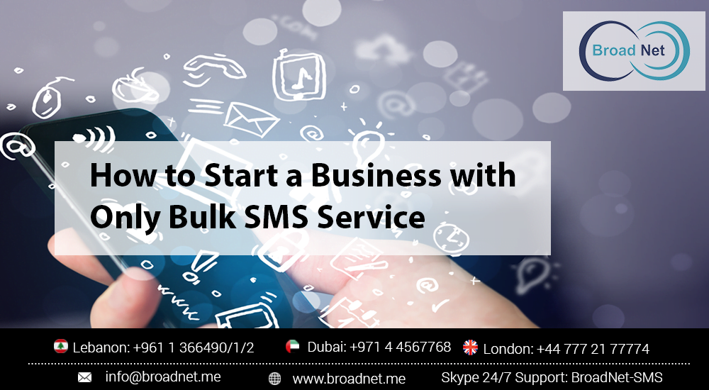 start business with sms