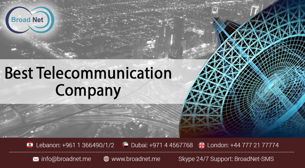 Why BroadNet is considered one of the best Telecommunication companies in the UAE and the UK
