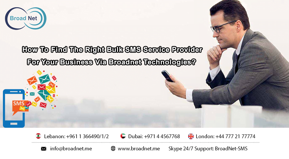 the right bulk sms