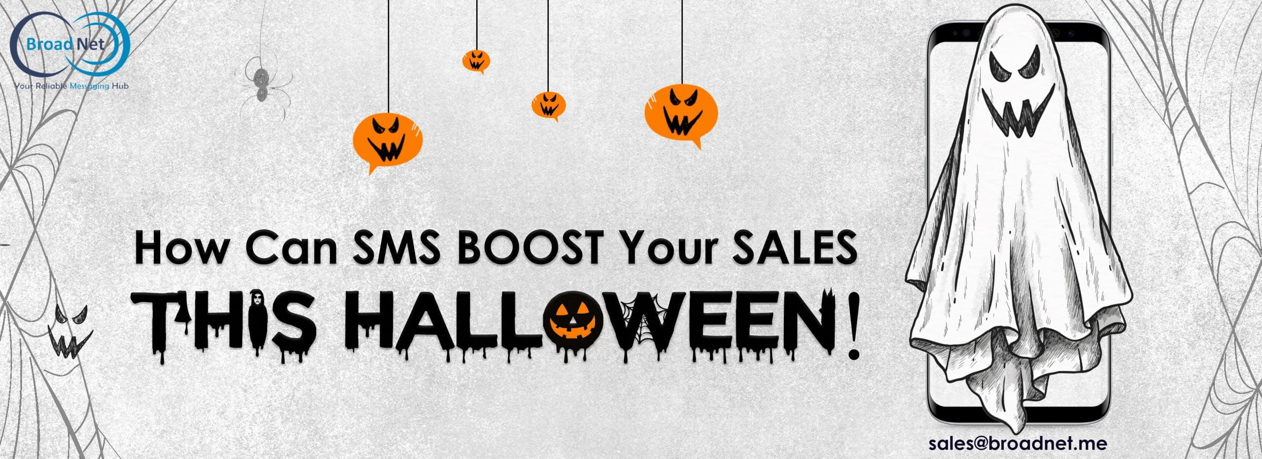 HOW CAN SMS BOOST YOUR SALES THIS HALLOWEEN?