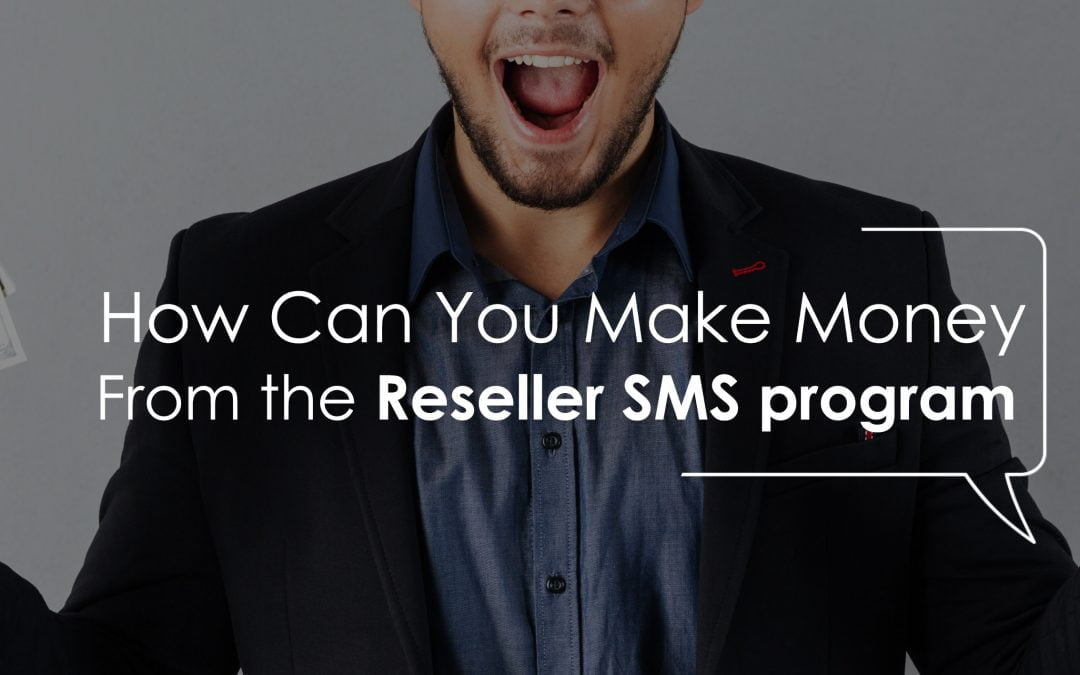 HOW CAN YOU MAKE MONEY FROM THE SMS RESELLER PROGRAM?